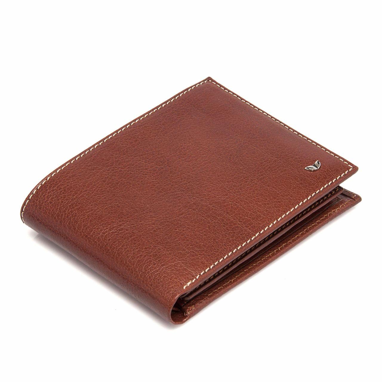Стилен мъжки портфейл от естествена кожа