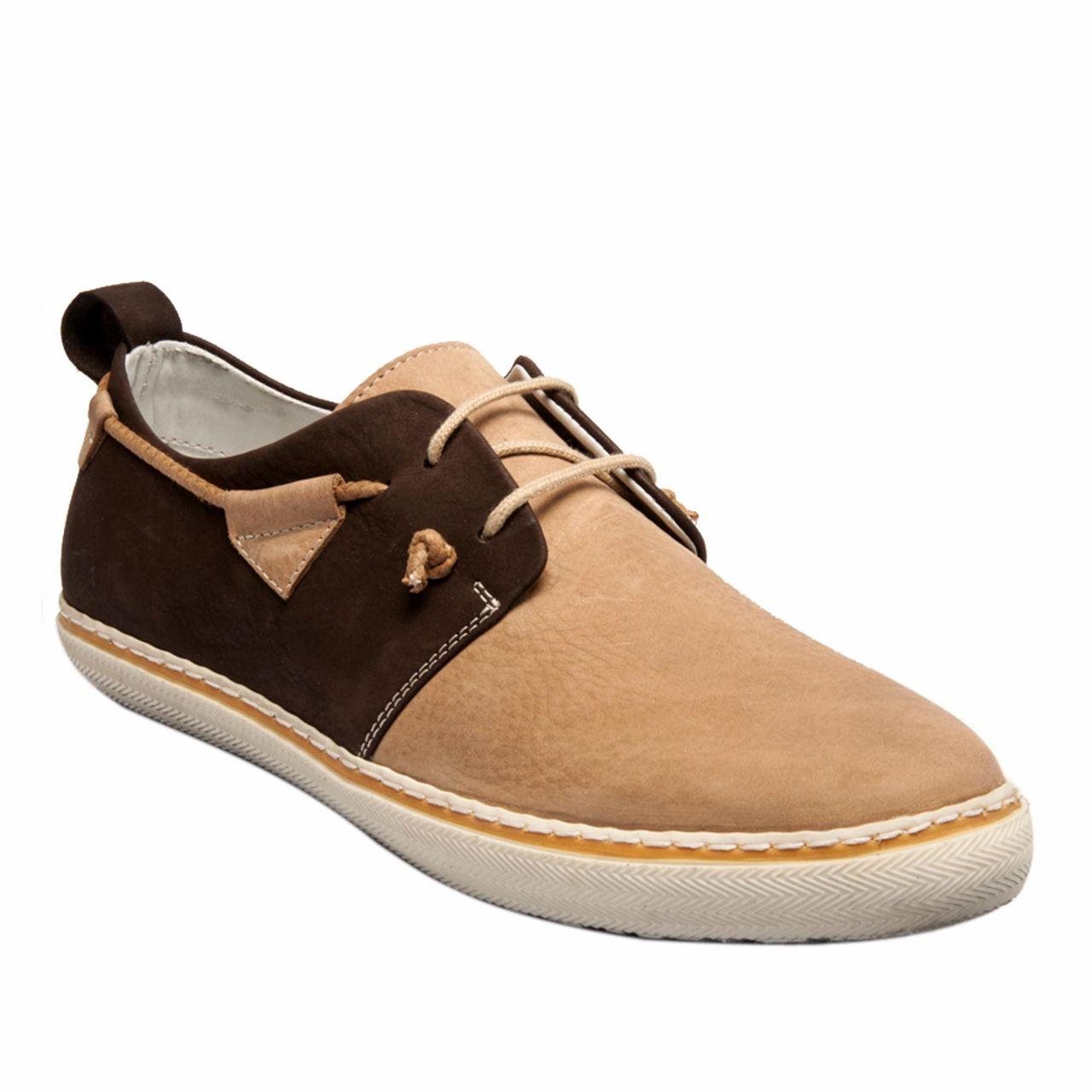 Мъжки спортни обувки в бежово
