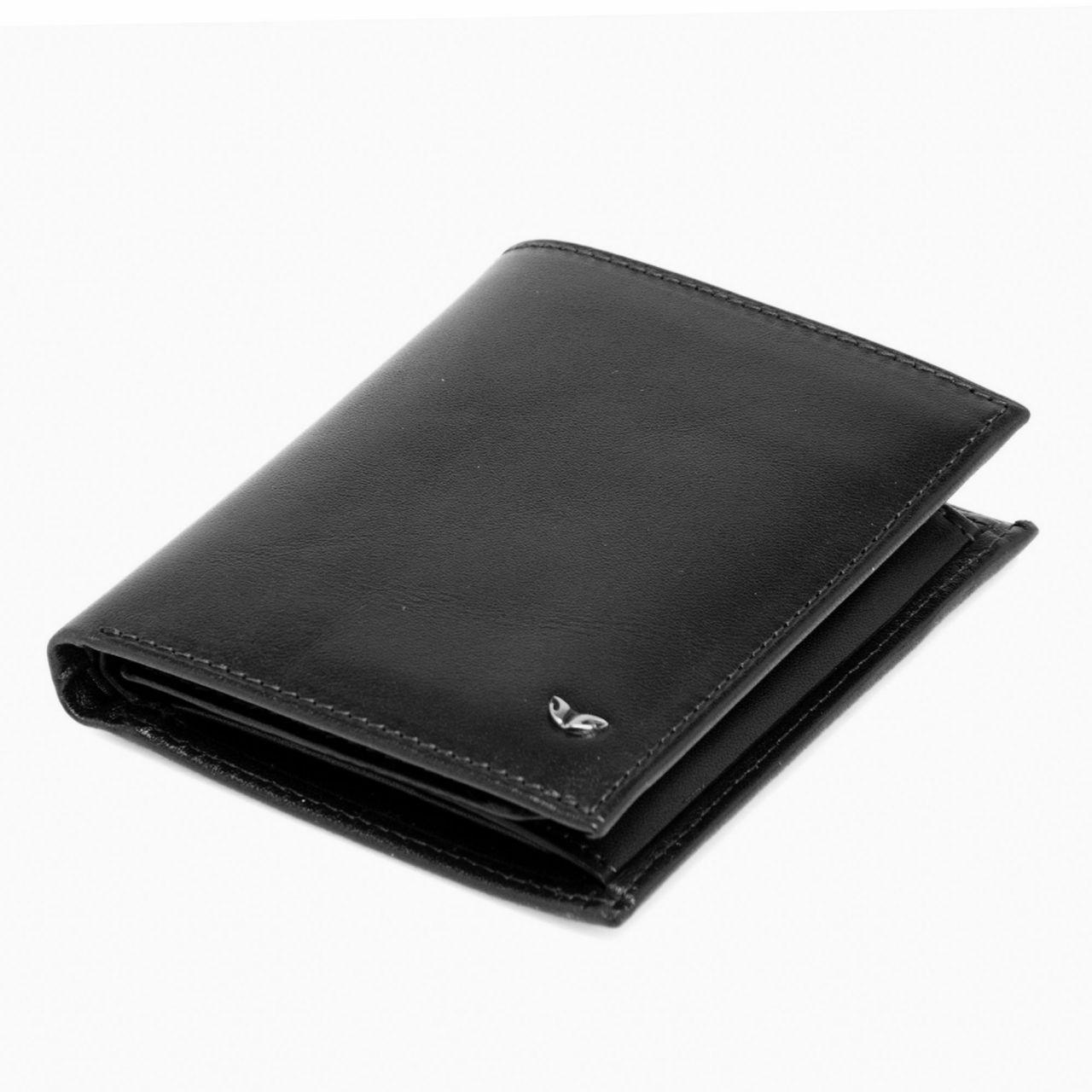 Универсален мъжки портфейл в черно