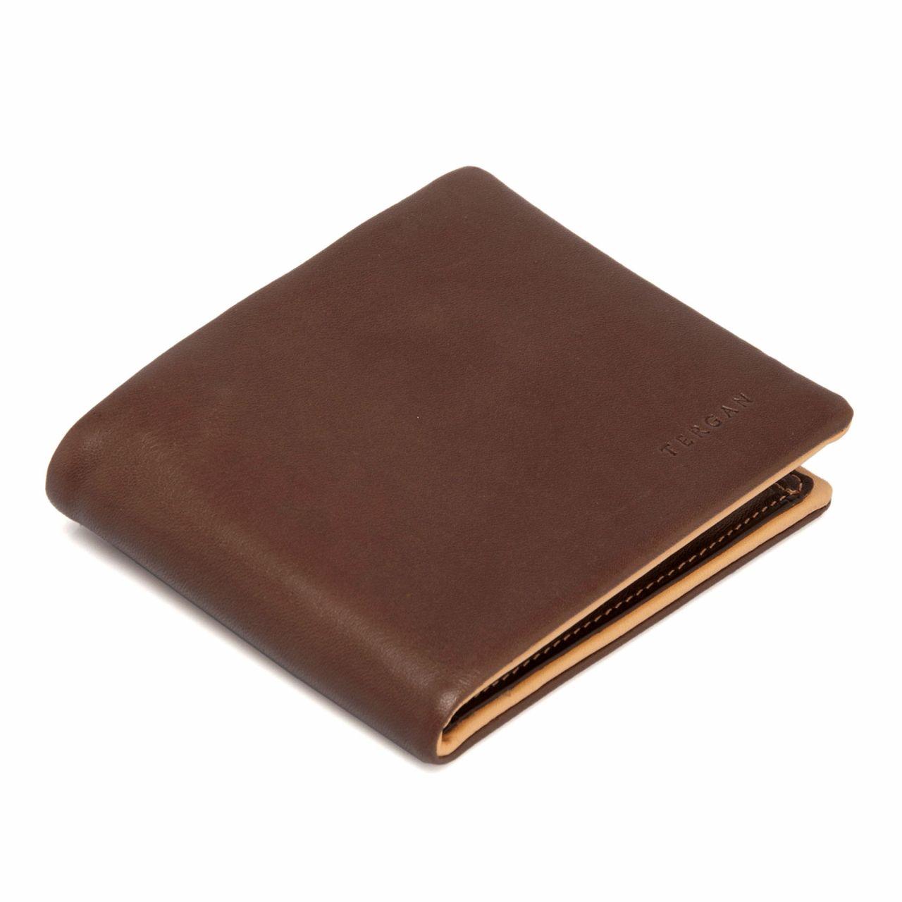 Стандартен мъжки портфейл от естествена кожа