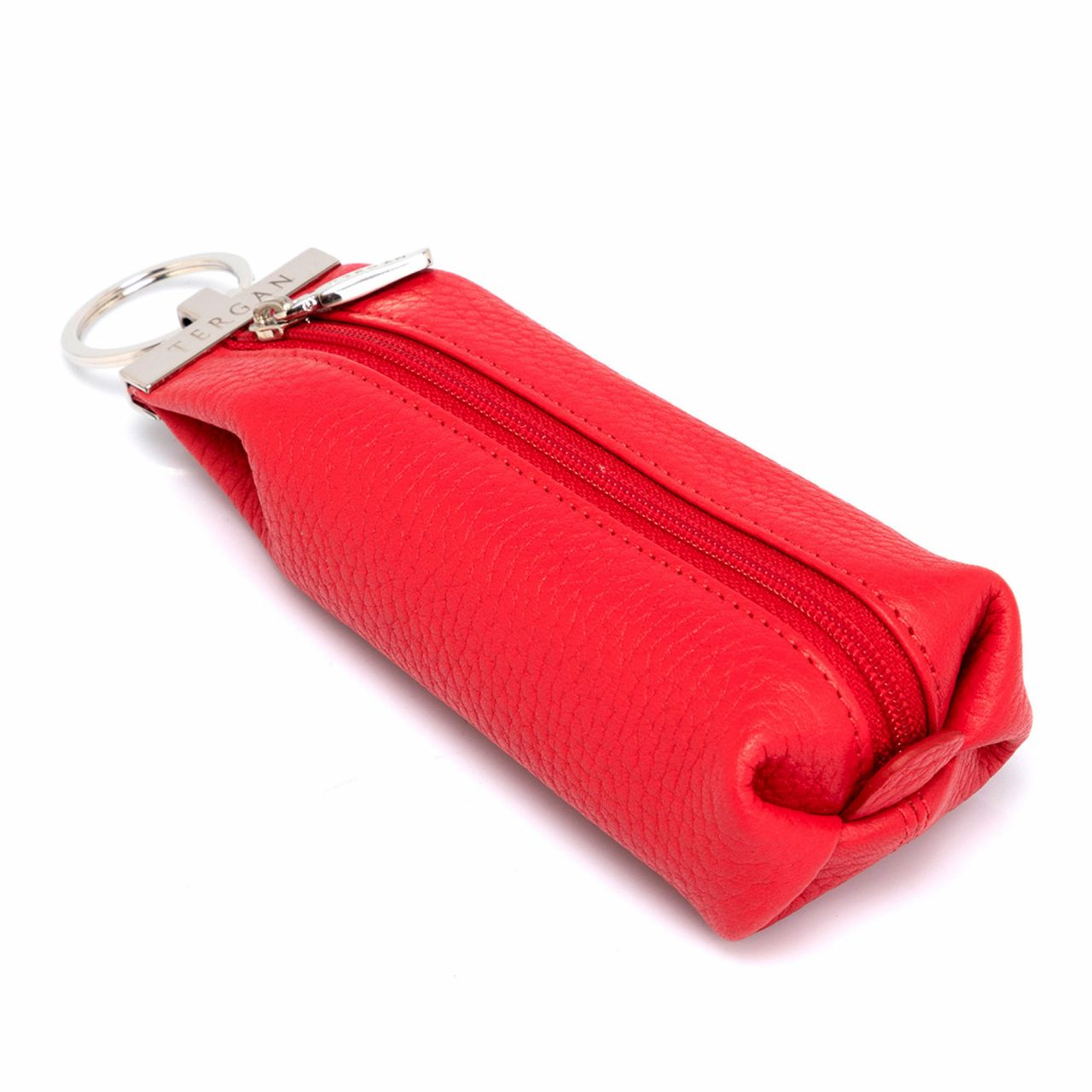 Red Leather Key Case
