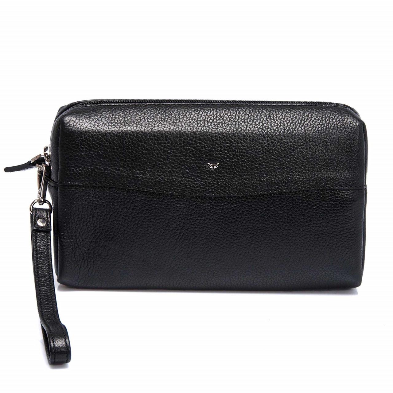 Елегантна малка чанта за ръка в черно