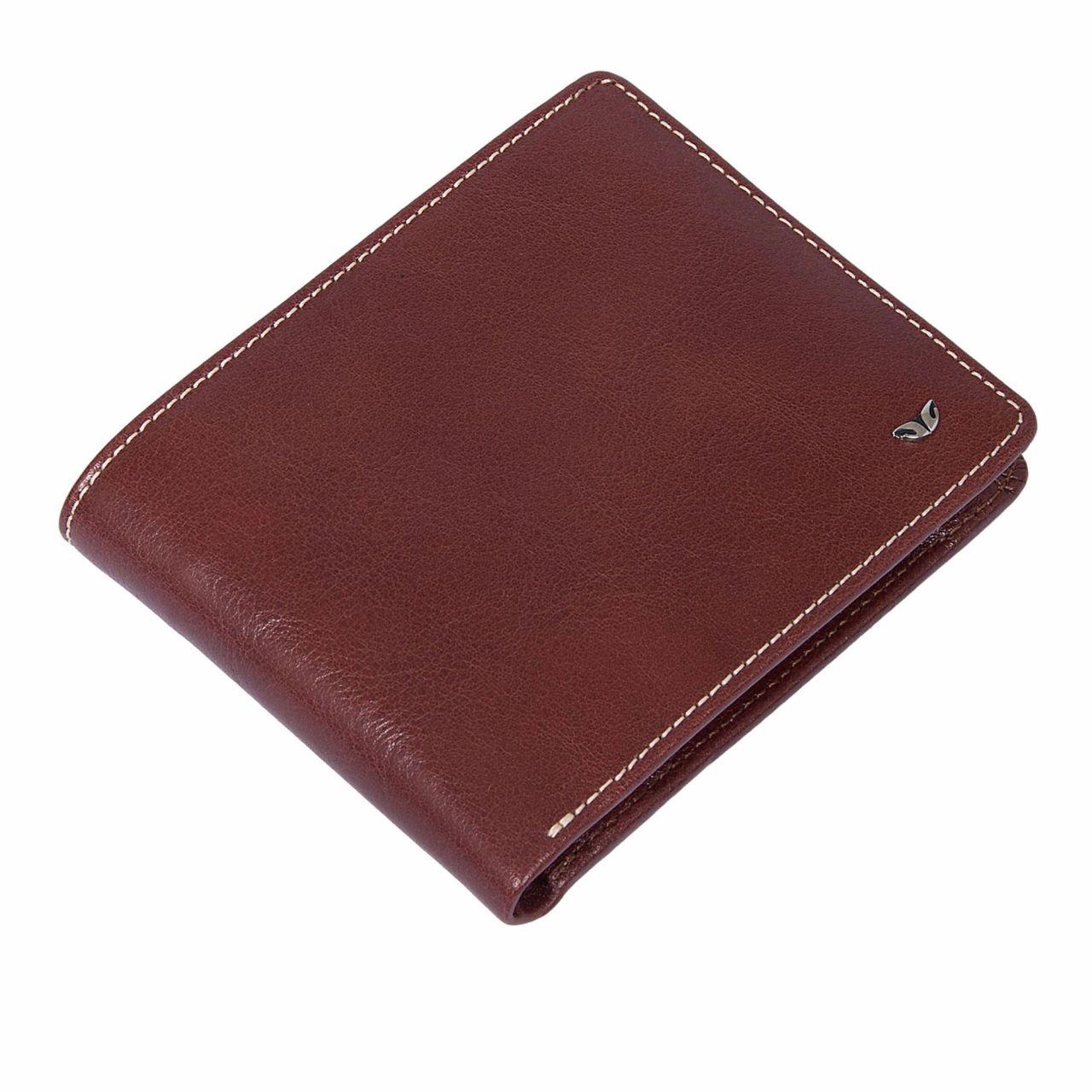 Елегантен мъжки портфейл в бордо