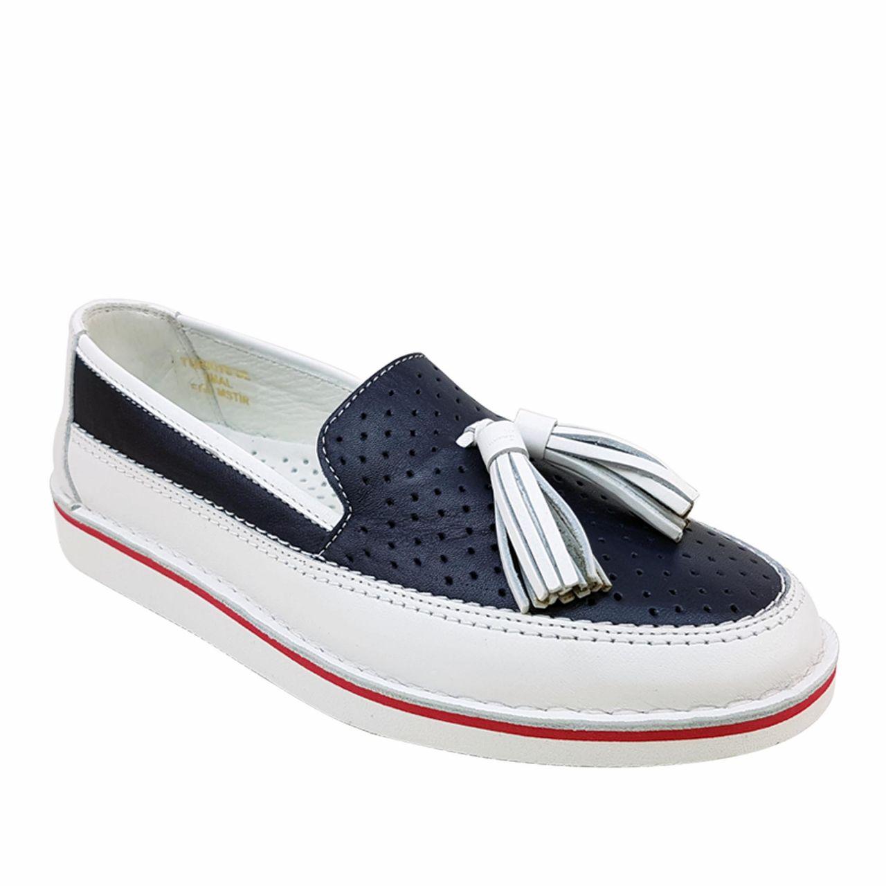 Спортни дамски обувки от естествена кожа