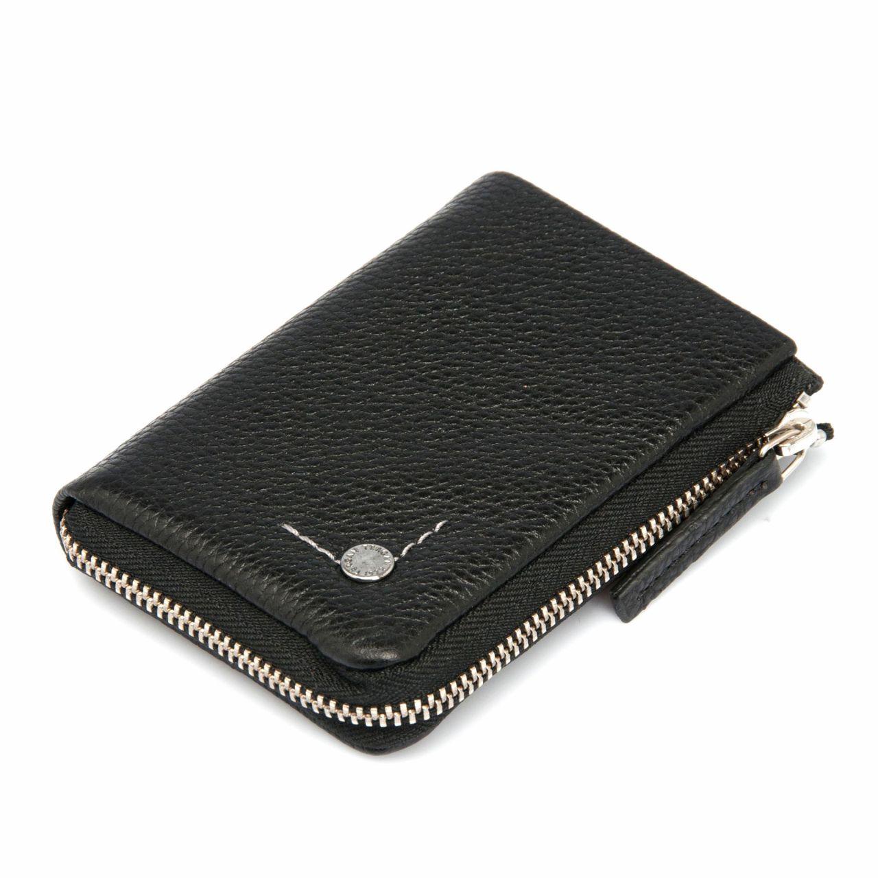Малко кожено портмоне с ключодържател