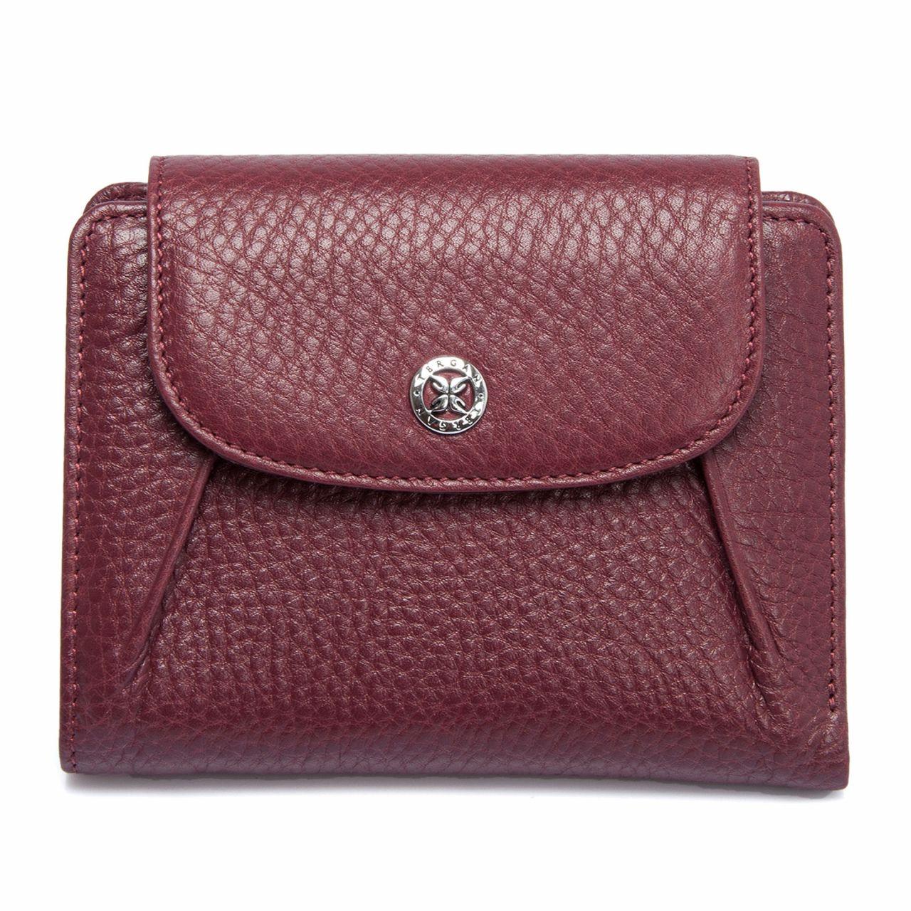 Bordeaux leather Wallet