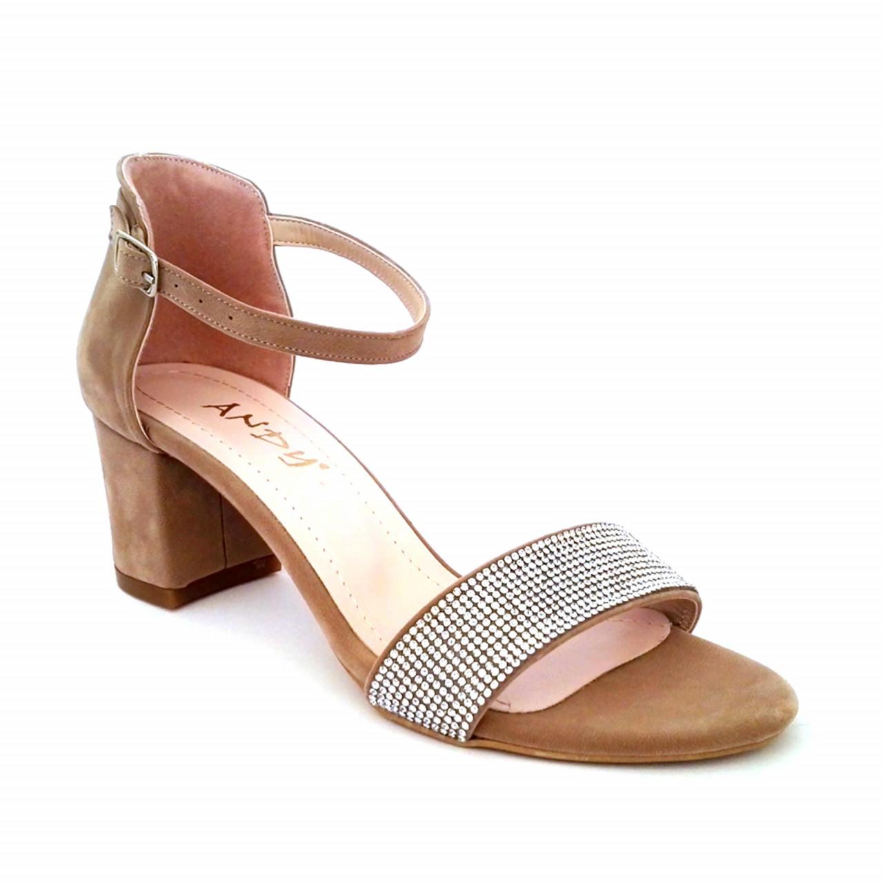 Women Elegant Sandals White/Black