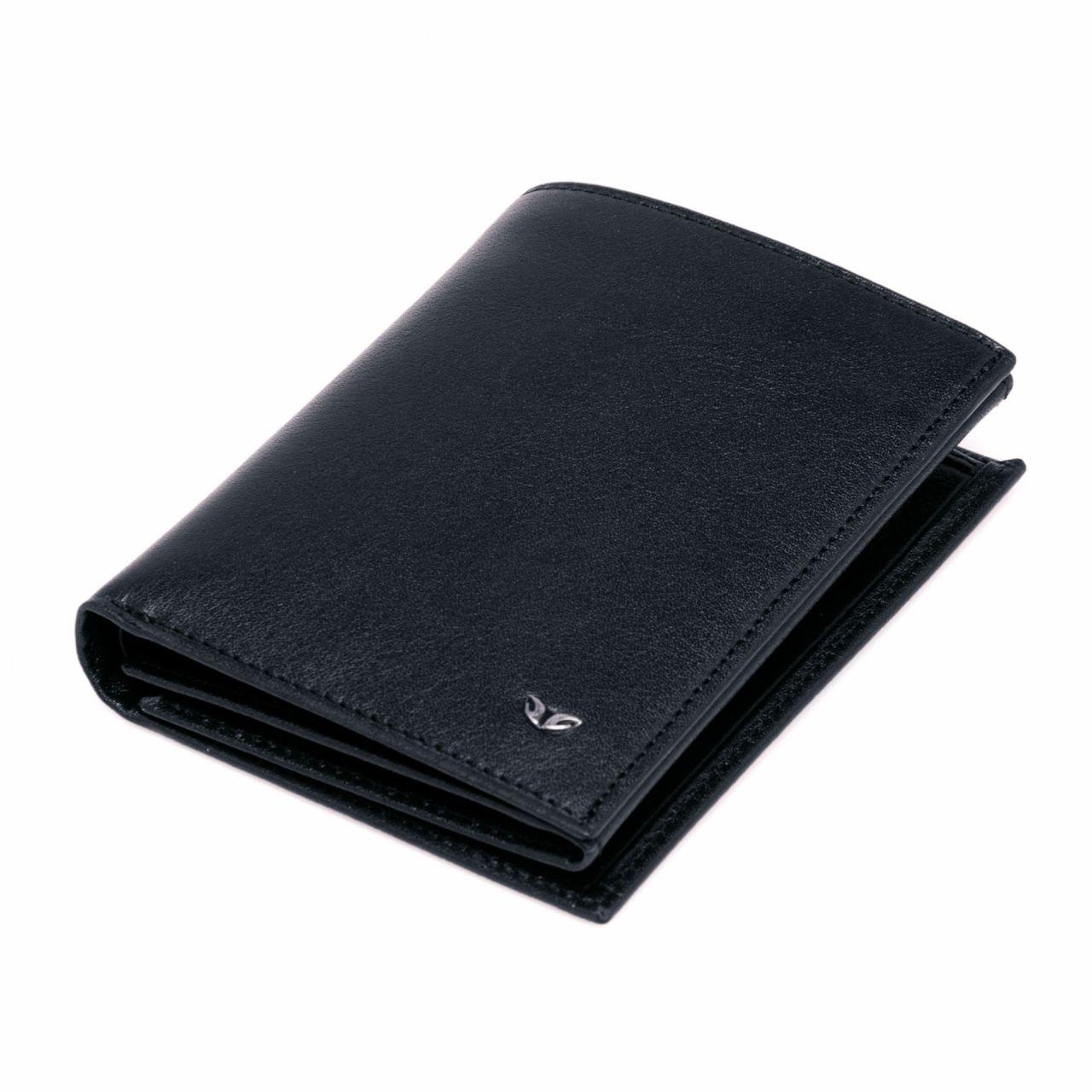 Vertical Men's Wallet with ID Window
