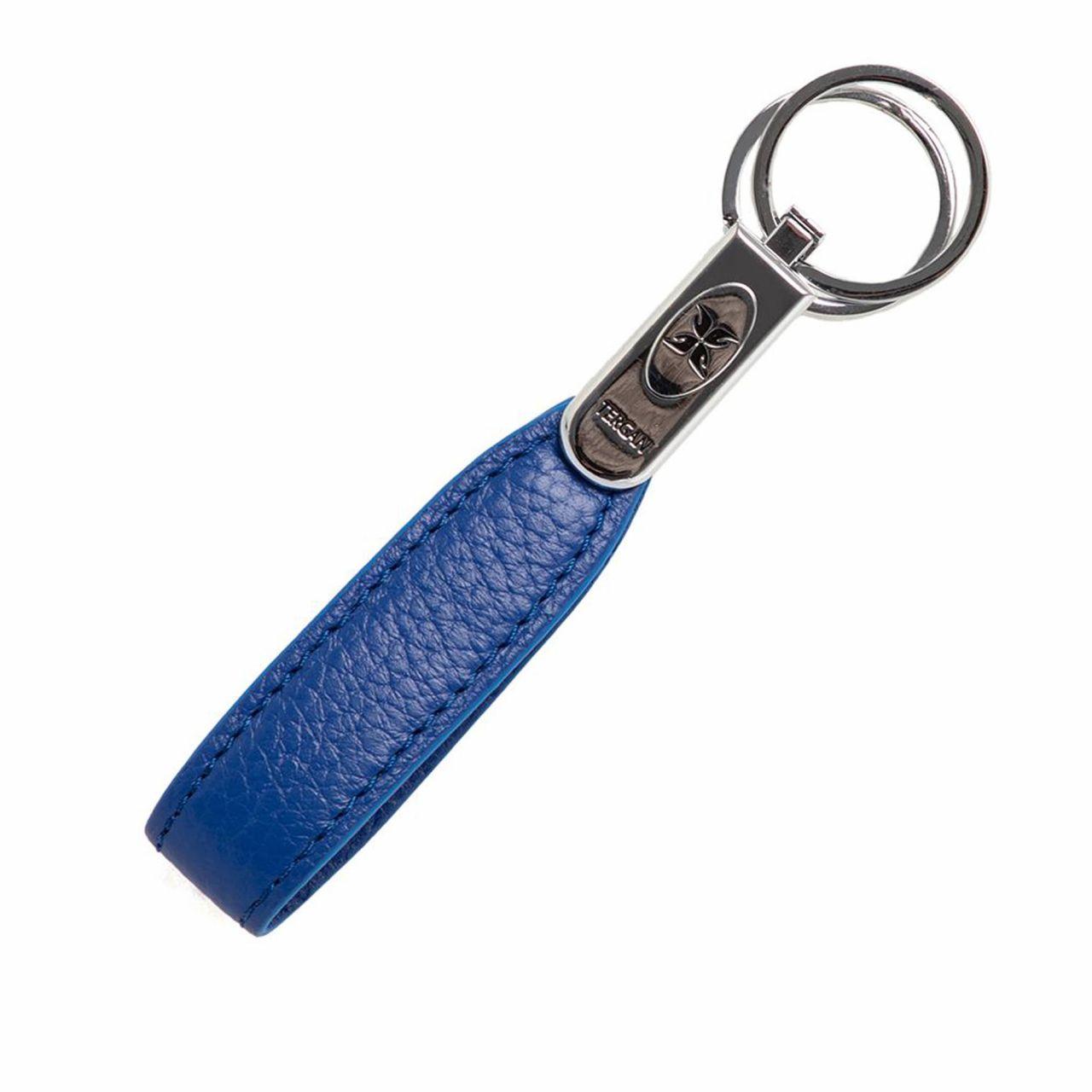 Дамски ключодържател в екстравагантно синьо