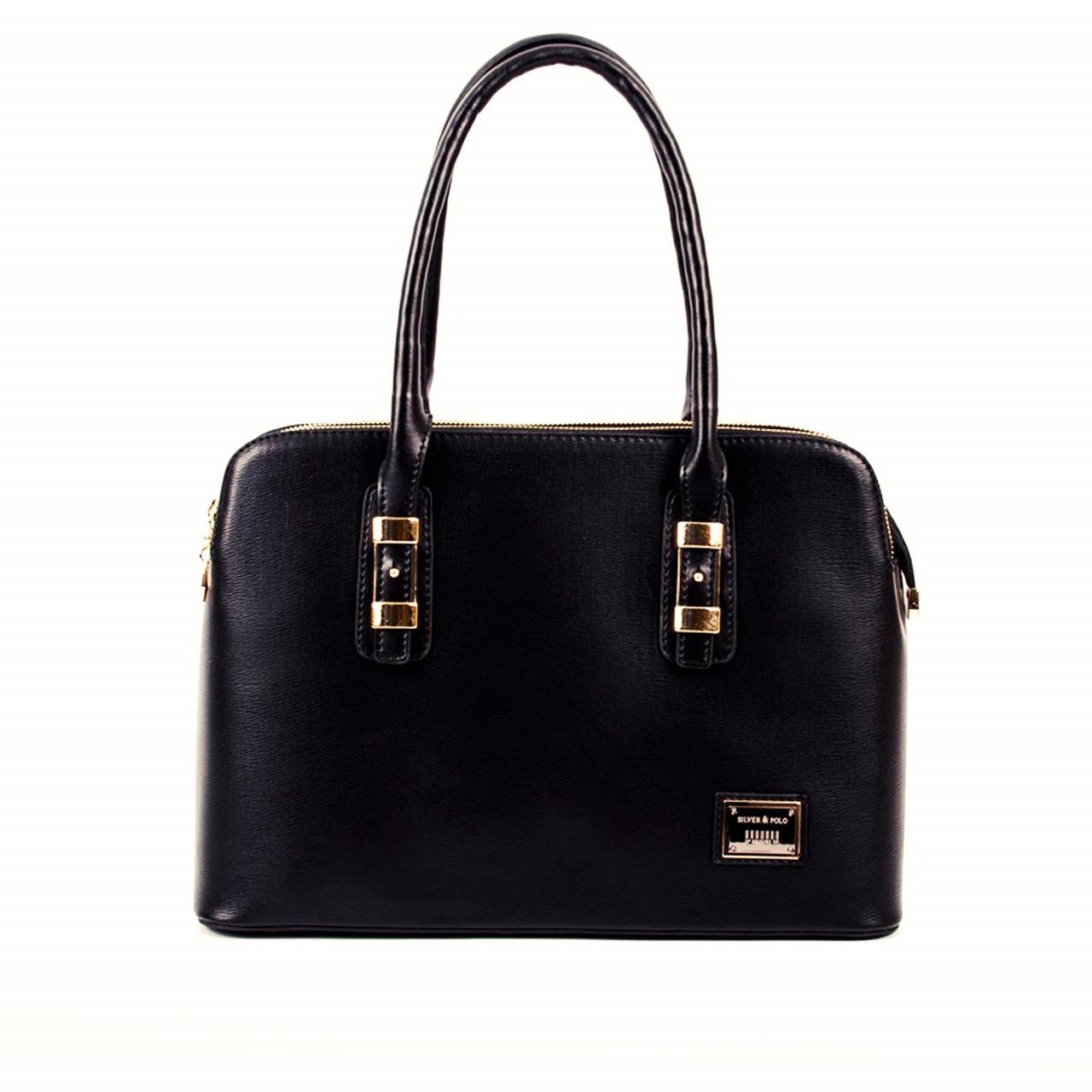 Черна универсална дамска чанта