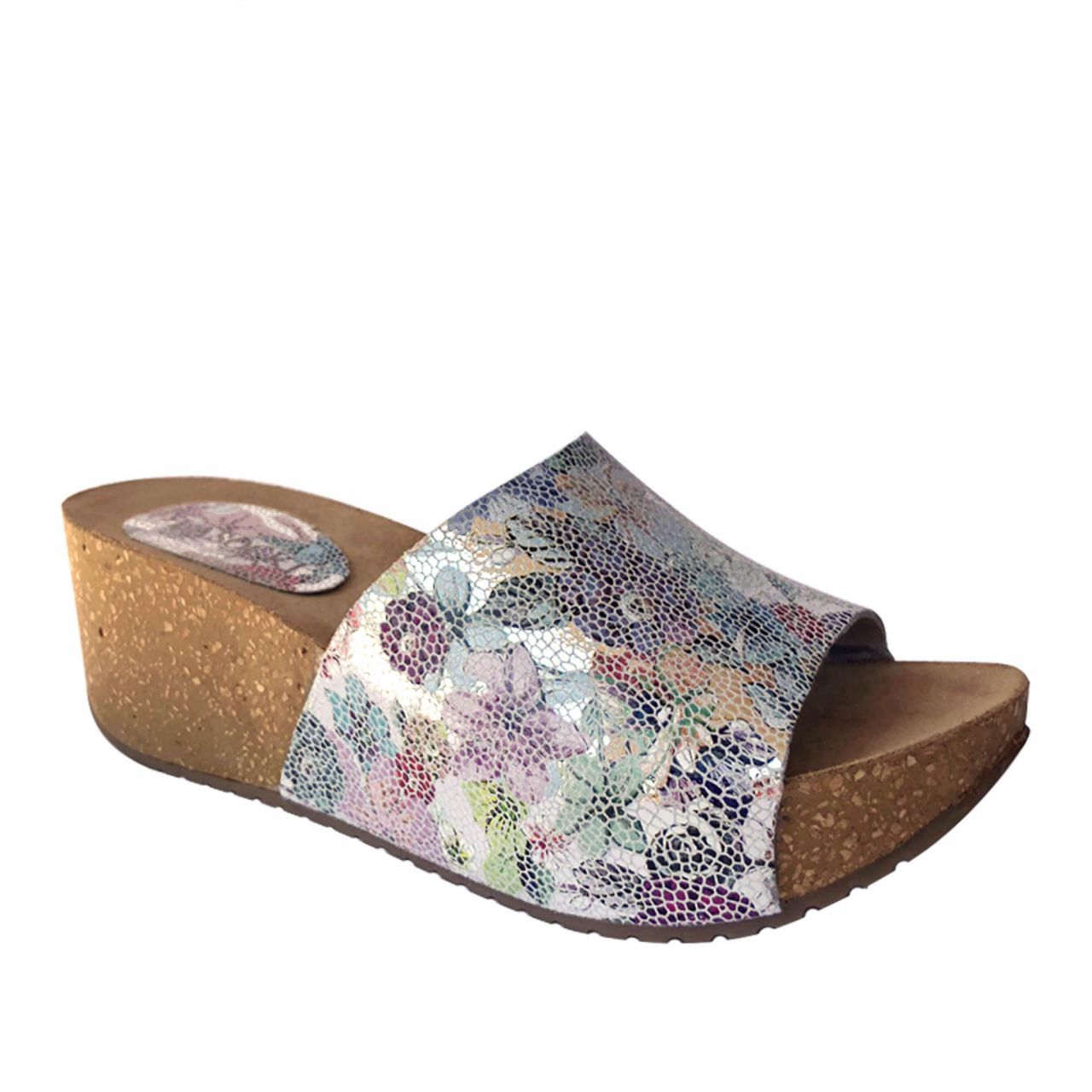 Genuine leather women slippers